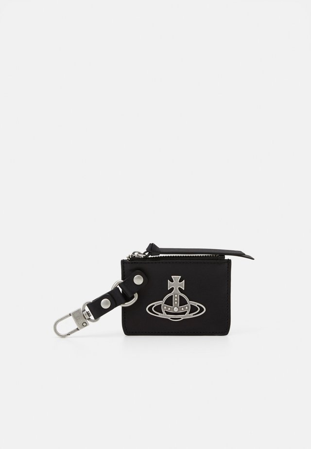 BETTY CARD HOLDER PURSE - Nyckelfodral - black