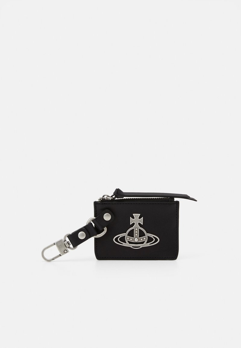 Vivienne Westwood - BETTY CARD HOLDER PURSE - Key holder - black