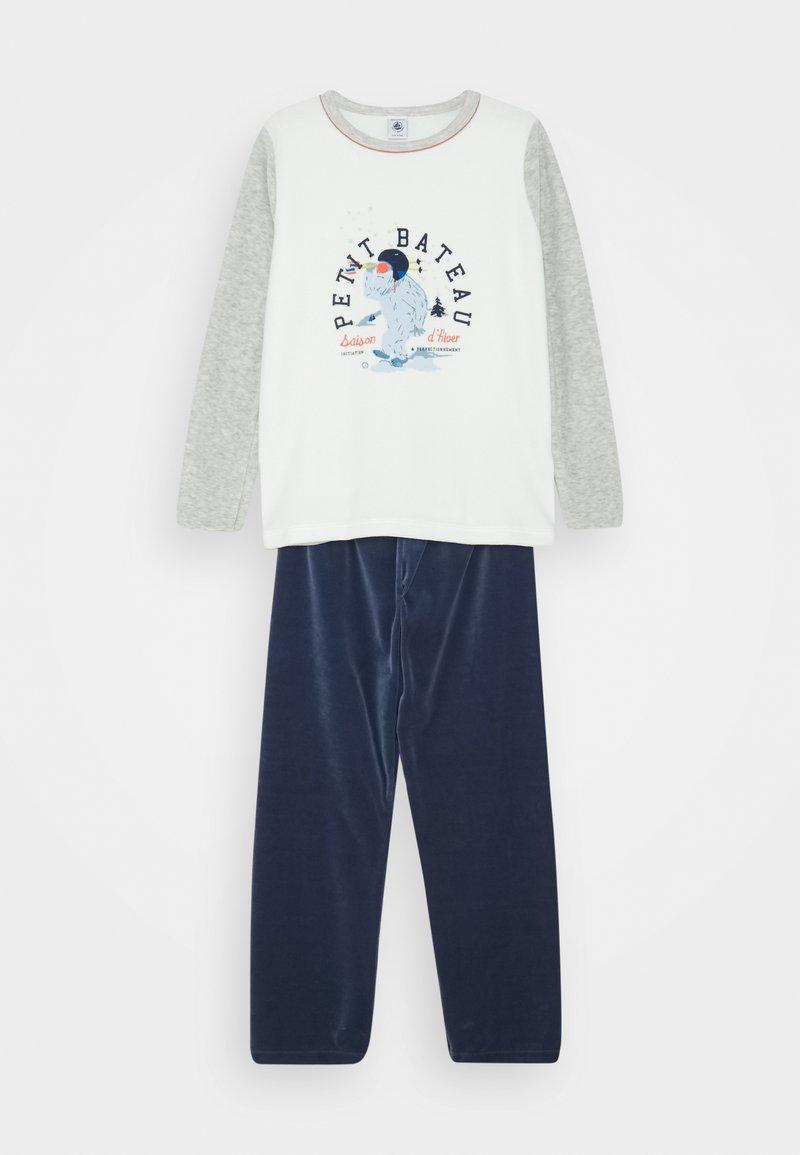 Petit Bateau - LIONEL  - Pyjama set - beluga/multicolor