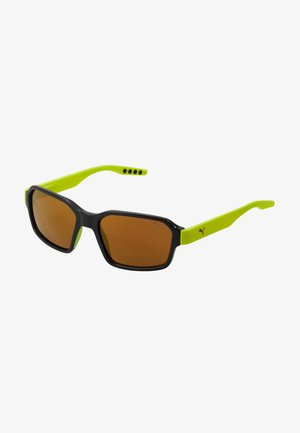 Sunglasses - black/yellow/gold
