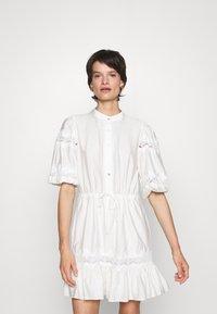 Rebecca Minkoff - ELLE DRESS - Day dress - white - 0