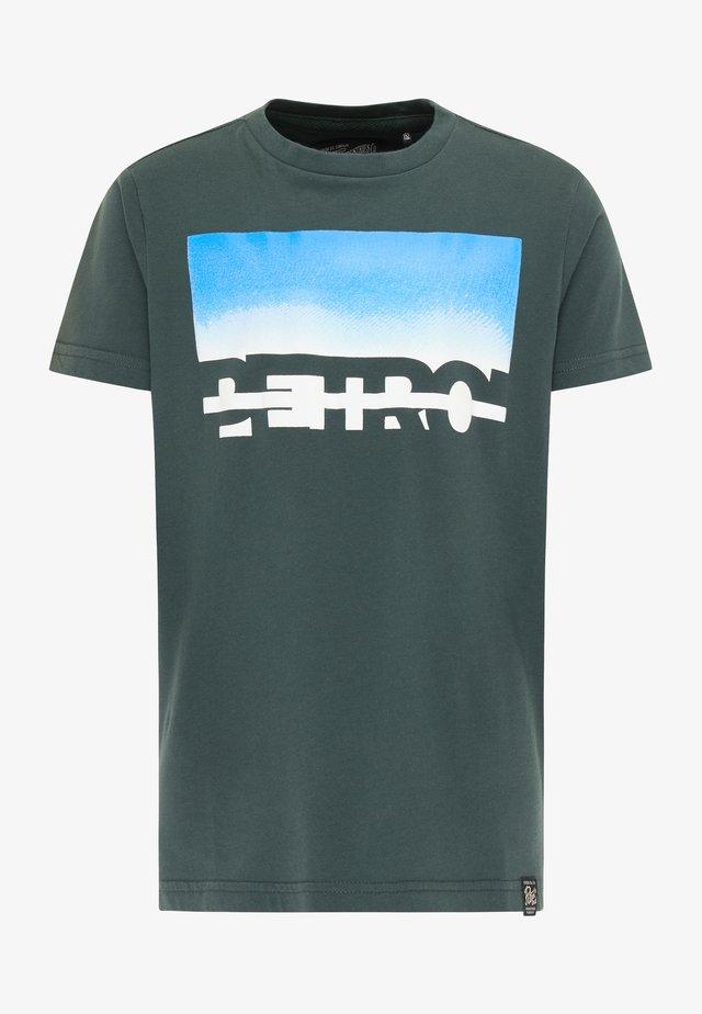 Camiseta estampada - dark green