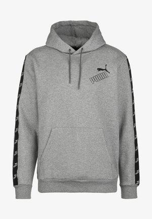 AMPLIFIED HOODIE - Hoodie - medium gray heather
