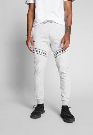GERNOS - Pantalones deportivos - mottled grey