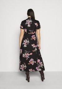 Vero Moda Curve - VMLOVELY  DRESS - Sukienka koszulowa - black - 2