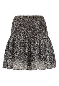 America Today - ROMY - Mini skirt - black/white - 1