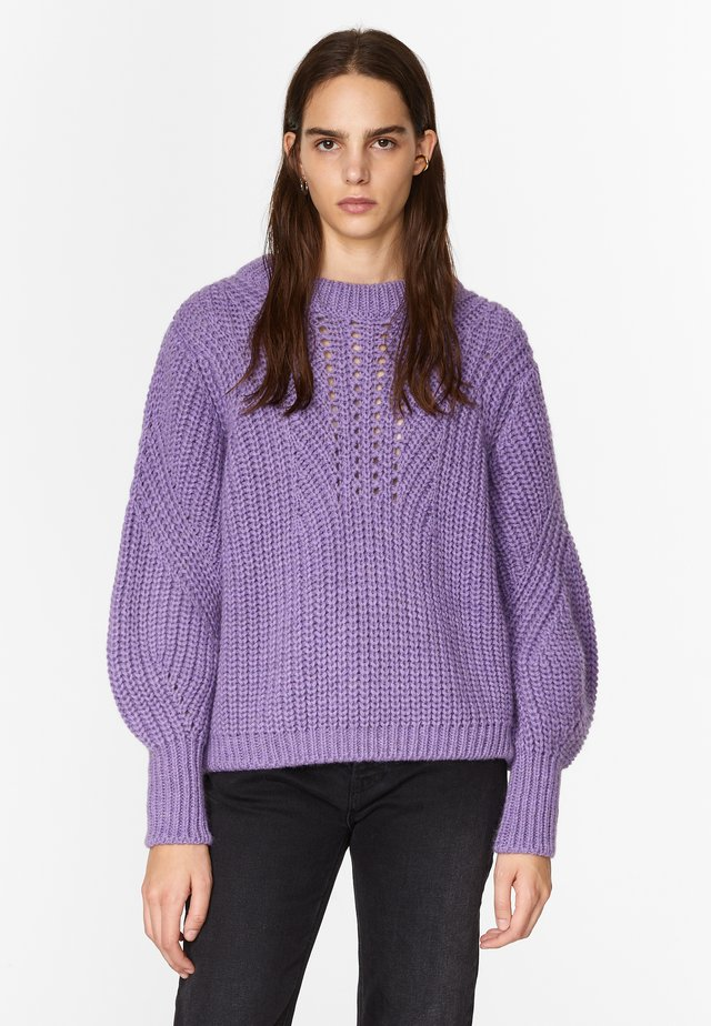 VOLUMINOUS - Jumper - dusty lilac
