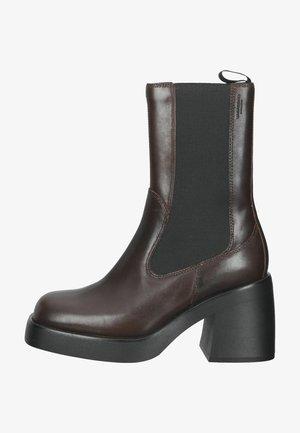 Platform ankle boots - java