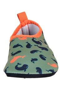 Sterntaler - AQUA SHOE - First shoes - dark green mottled - 5