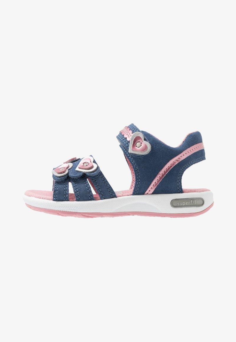 Superfit - EMILY - Sandals - blau