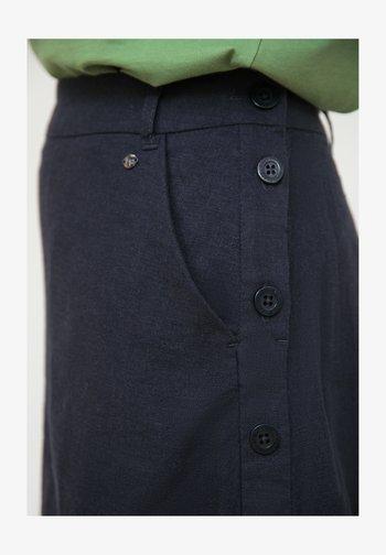A-line skirt - cosmic blue