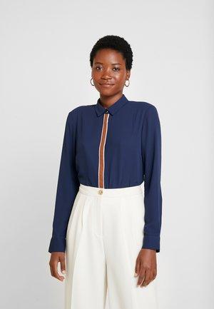 Button-down blouse - mood indigo