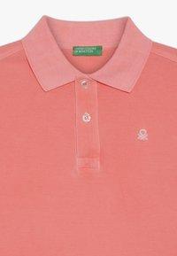 Benetton - Koszulka polo - neon pink - 3