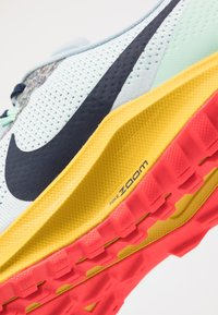 Nike Performance - AIR ZOOM PEGASUS 36  - Obuwie do biegania Szlak - aura/blackened blue/light armory blue/mint foam/speed yellow/laser crimson - 5