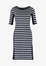 MARGIT - Jumper dress - navy/pearl