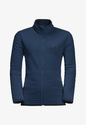 MODESTO - Fleece jacket - dark indigo