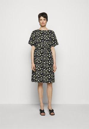 KOLLINEAARI UNIKKO DRESS - Day dress - beige/black/yellow