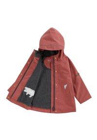 Töastie - COASTAL WOODLAND - Waterproof jacket - pink - 2