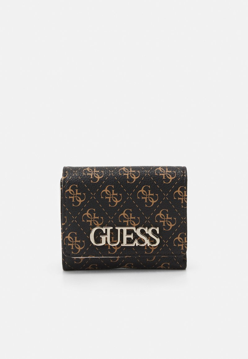 Guess - UPTOWN CHIC SMALL TRIFOLD - Wallet - brown