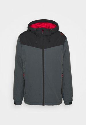 MAN JACKET FIX HOOD - Winter jacket - titanio