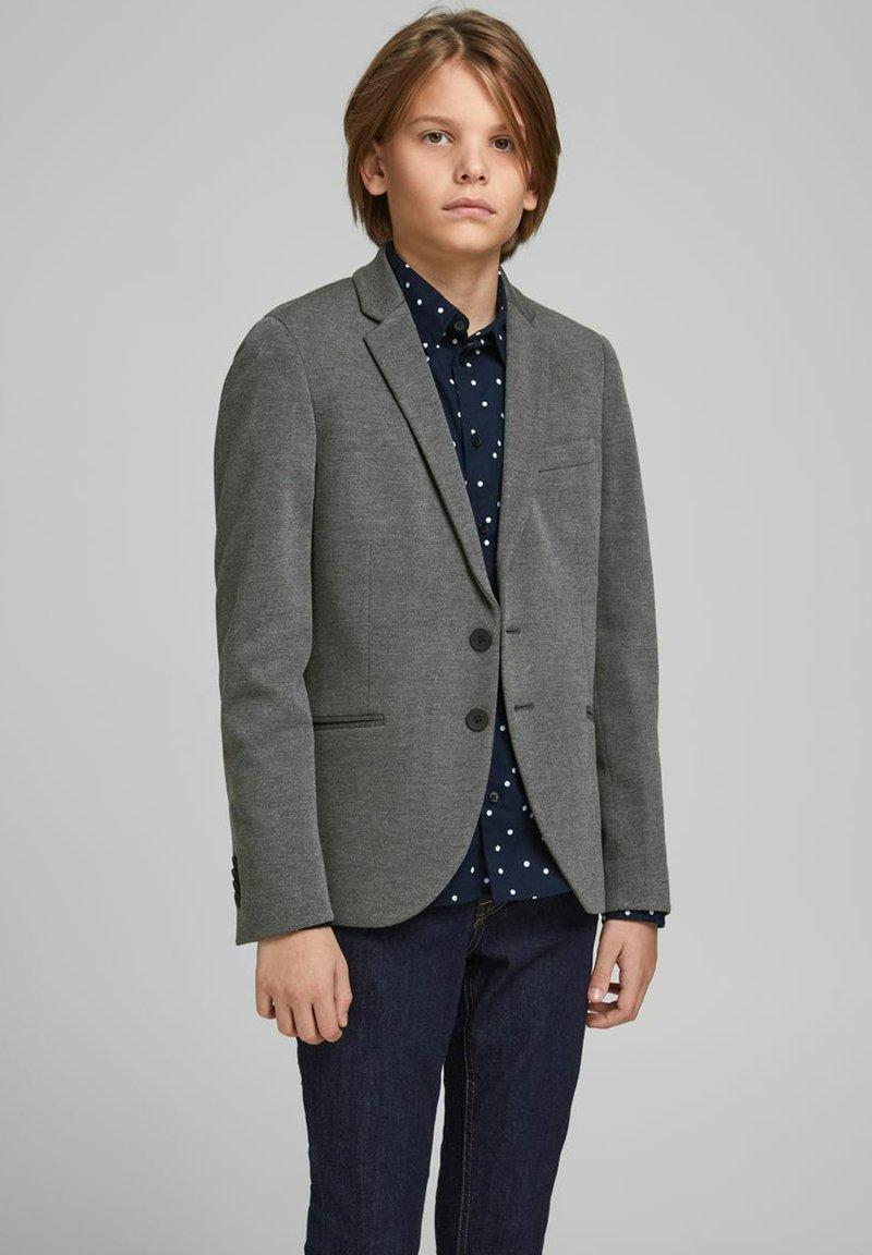 Jack & Jones Junior - JJEPHIL - Blazer jacket - grey melange
