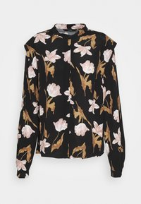 Vero Moda - VMBETTY BUTTON - Skjortebluser - black