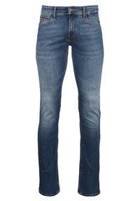 Tommy Jeans - SCANTON - Slim fit -farkut - clean mid - 0
