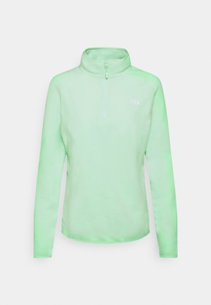 GLACIER 1/4 ZIP MONTEREY - Fleece jumper - misty jade