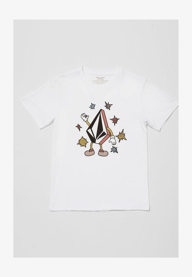 FIZZ STONE - BLANC - T-shirt print - white