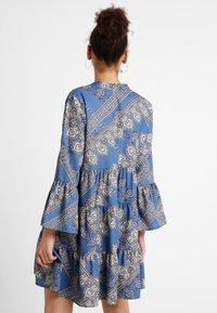 ONLY - ONLDIANAATHENA 3/4 DRESS - Day dress - blue horizon - 3