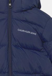 Calvin Klein Jeans - TAPE PUFFER - Winter jacket - peacoat - 3