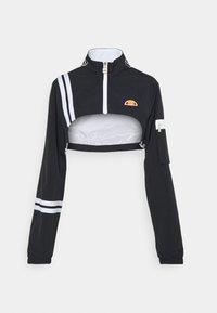Ellesse - LAUDE CROP TRACK  - Summer jacket - black - 6
