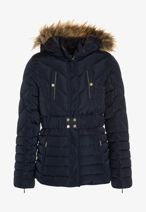 Winter jacket - total eclipse/blue