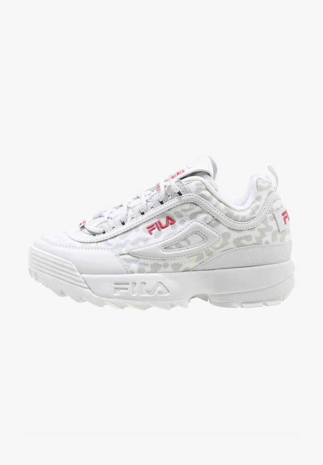 Sneakers laag - white leopard