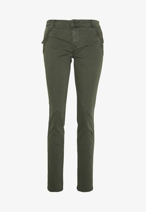 CUALBA PANTS - Trousers - olive night