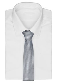 HUGO - Tie - open grey - 1