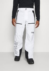 Oakley - LINED SHELL PANT - Snow pants - white - 0