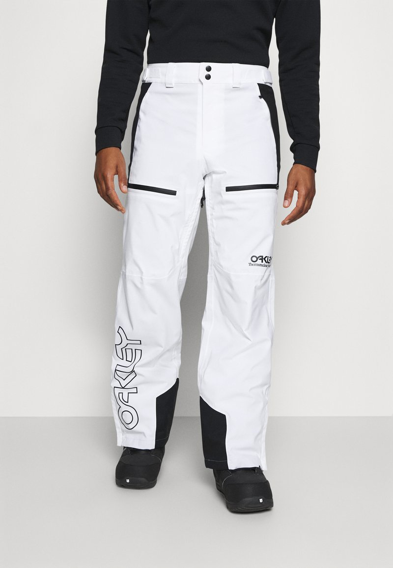 Oakley - LINED SHELL PANT - Snow pants - white