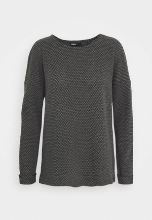 ONLDIAMOND - Pullover - dark grey melange