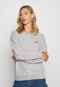 Levi's® - STANDARD CREW - Bluza - smokestack heather - 0