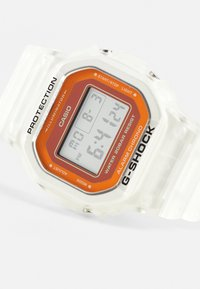 G-SHOCK - SKELETON - Digital watch - transparent/orange - 4