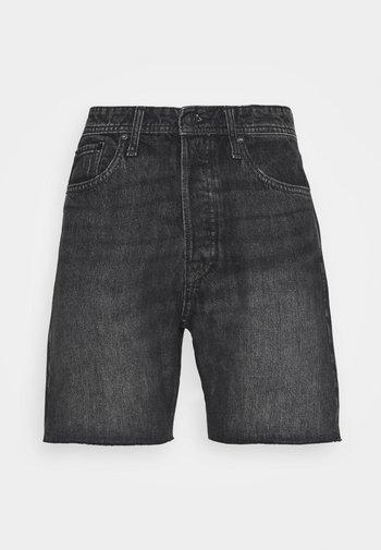 JJICHRIS  - Shorts di jeans - black denim
