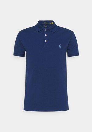 SLIM FIT MODEL - Polo - harrison blue