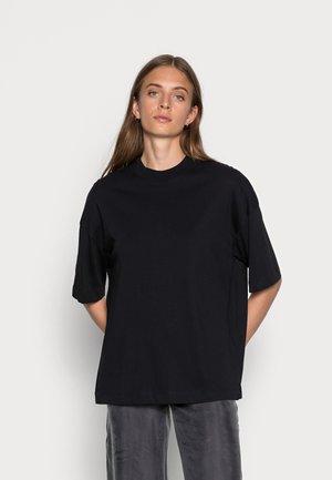 SLFRELAXCOLE  HIGH NECK TEE  - T-shirt basique - black