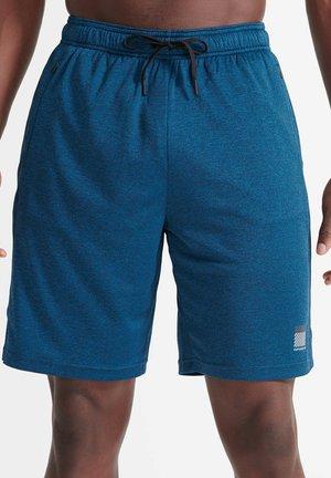 Sports shorts - naval blue twist