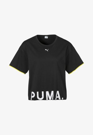 CHASE  - Print T-shirt - black