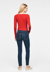comma - Long sleeved top - red - 1