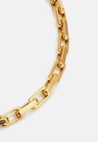 Guess - URBAN LEGEND LOGO OVAL CHAIN  - Pulsera - gold-coloured - 2