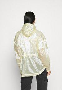 Nike Sportswear - SUMMERIZED - Summer jacket - coconut milk/black - 2