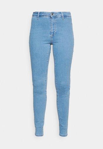 ONLBLUSH LIFE BOX - Jeansy Skinny Fit - light blue denim